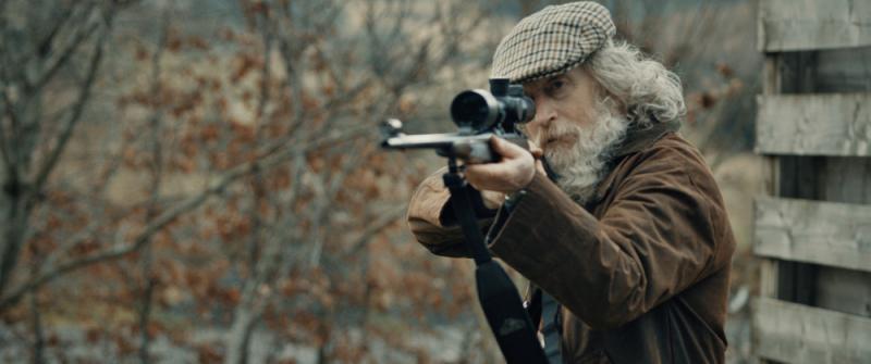 Tony Greengass as Old Gun in Dead End-Dead Man Walking