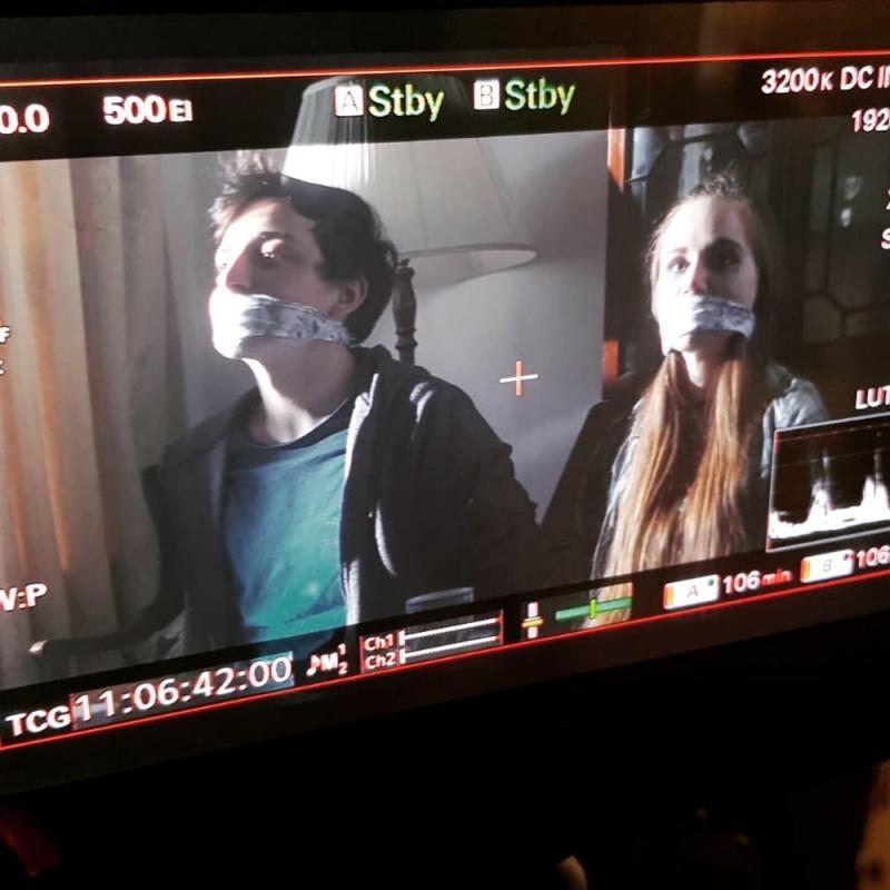 Haley - Tea with Granny- Film still
