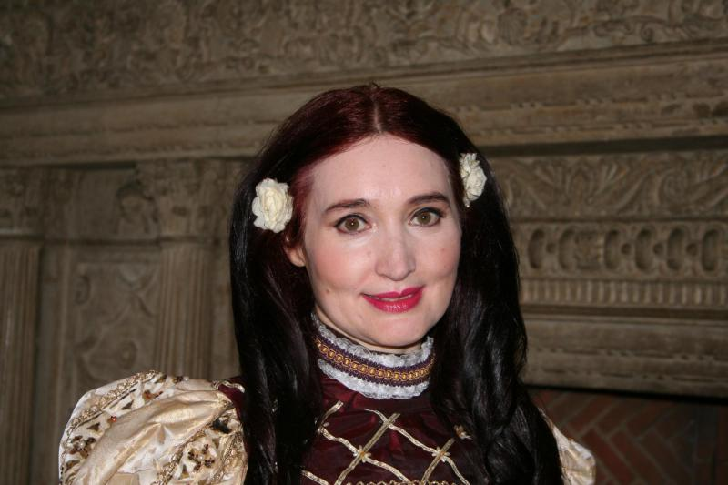 Theresa Roche in Elizabethan Costume