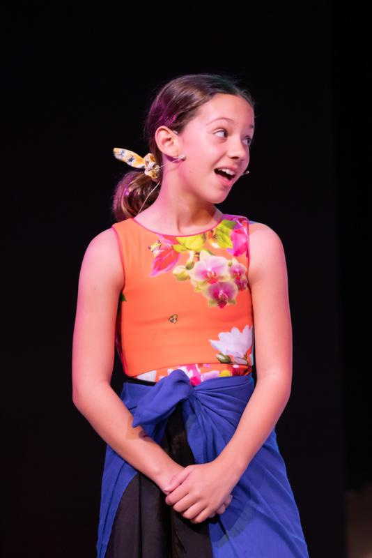 Francesca in Mary Poppins the Musical Junior
