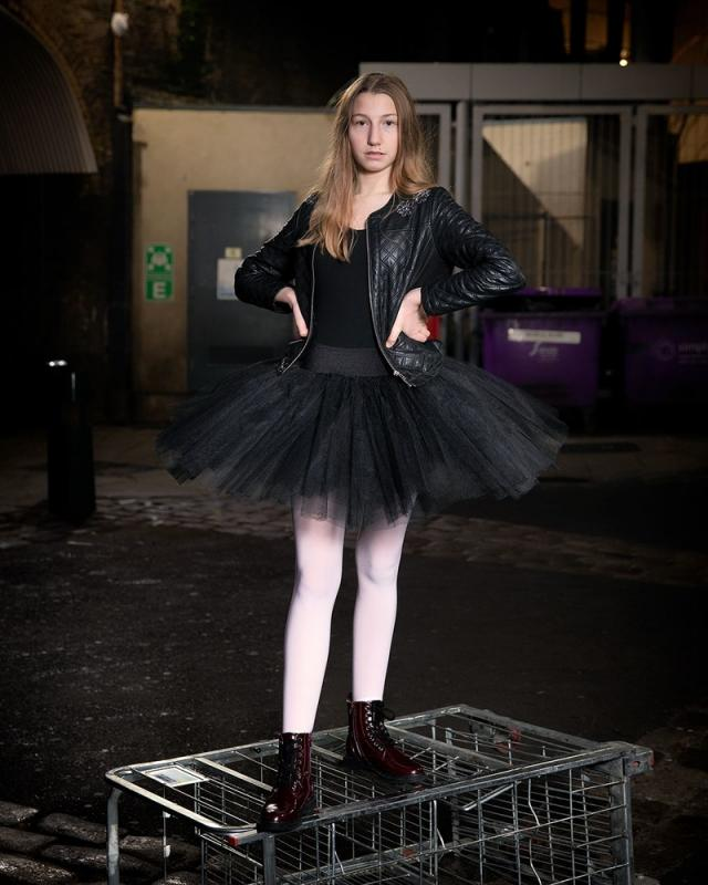 Ballerina Grunge - Dance In the City