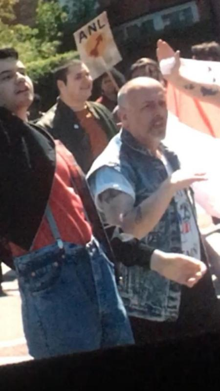 "Dave as Skinhead in ""Blinded By The Light"""