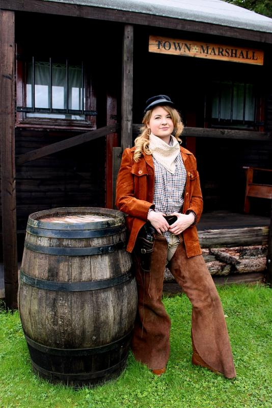 Calamity Jane - Tranquility Wild West Town shoot