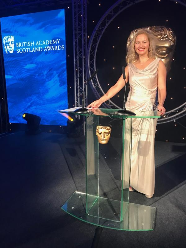 Holly Woodhouse at 2017 BAFTA Awards