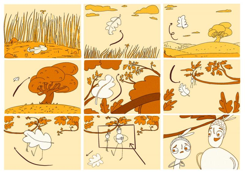 Storyboard_Journey of Acorn_Animation_OpeningSequence