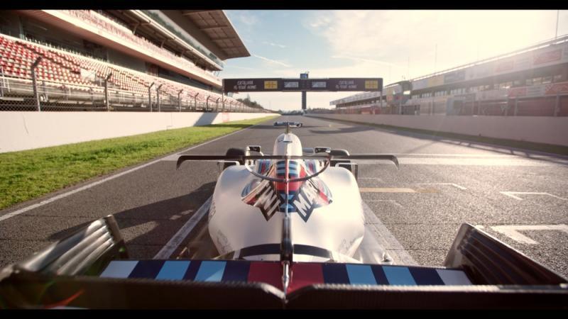 Screengrab | Williams Martini Racing on Track