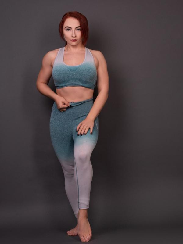 Fitness body shot