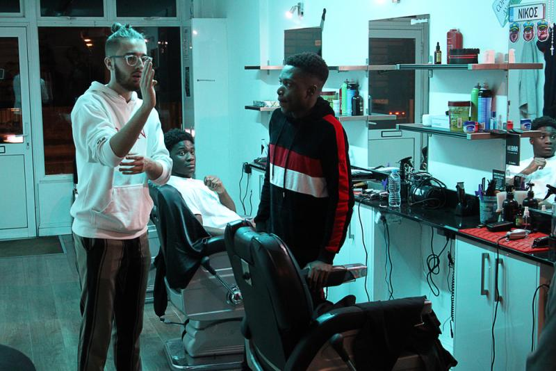 Working with Ntonga (Actor) on Cuts