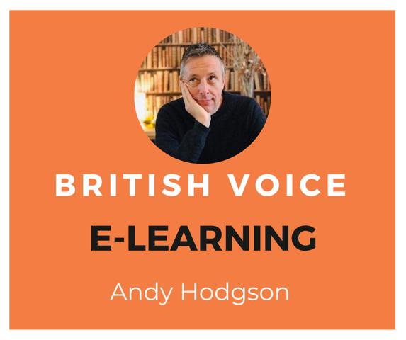 Andy Hodgson E-Learning Voice Over