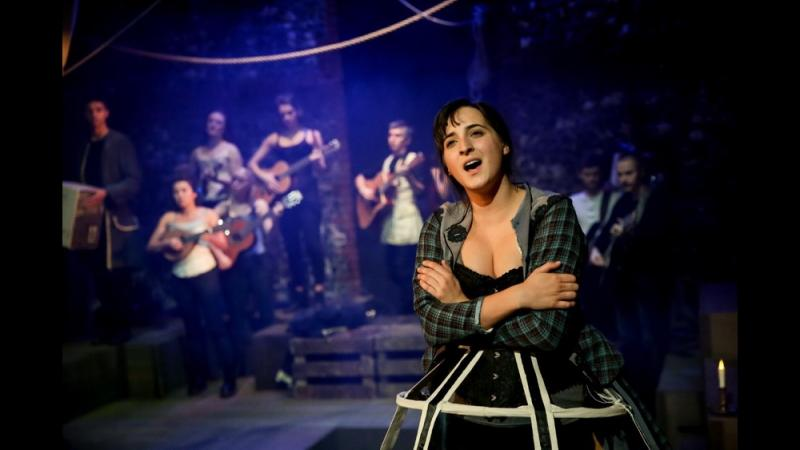 Mary Lacy in the musical Deptford Wifes directed by Tania Azevedo