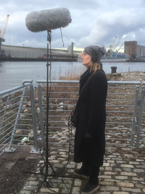 Field Recording in Belfast for Project -Game of Thrones: The Last Watch.