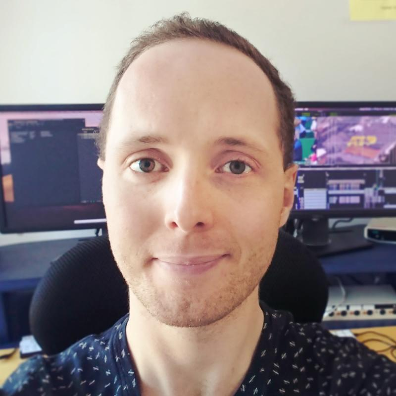 Rob Mckenzie selfie 2020