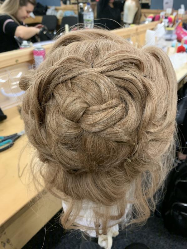 Curtains Musical Wig