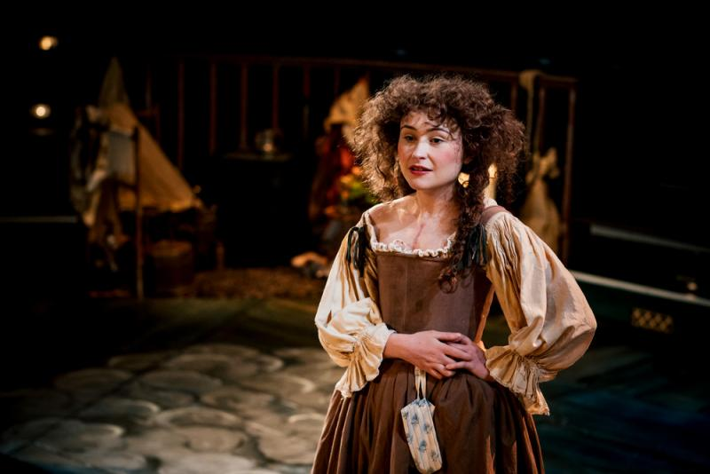 As Nell Gwyn in Playhouse Creatures at the New Vic