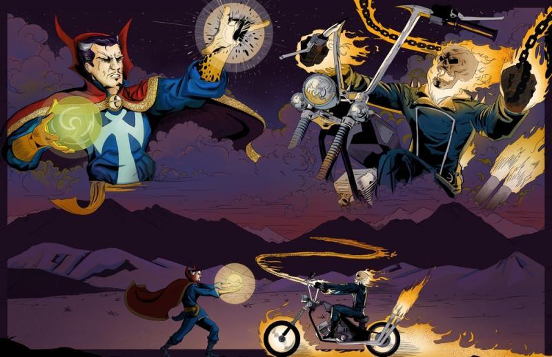Doctor Strange V Ghost Rider