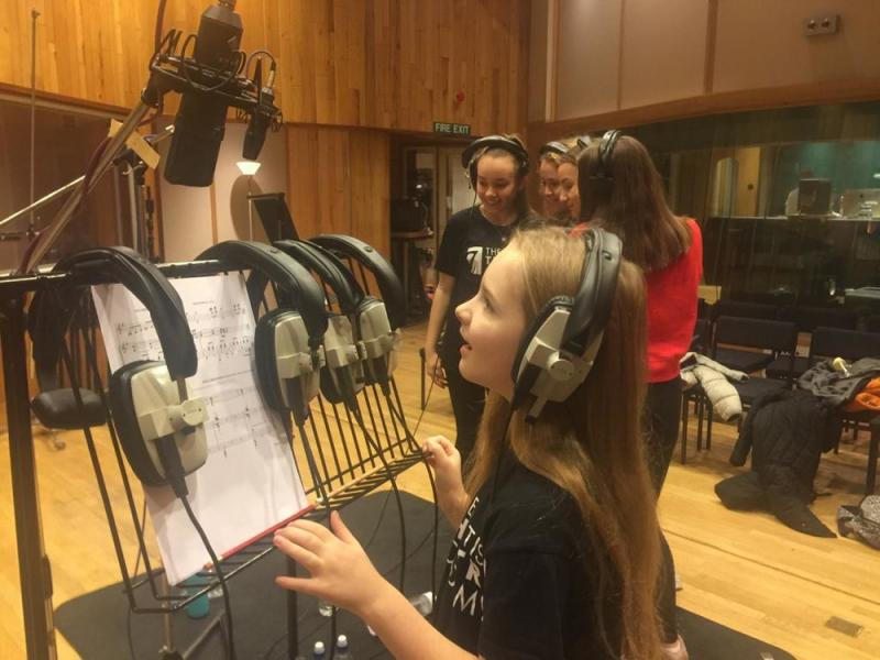 Katherine Wilson - Matilda CD Recording