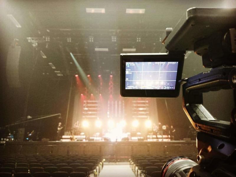 Brighton Centre - Canon C300 (Ronan Keating Tour)