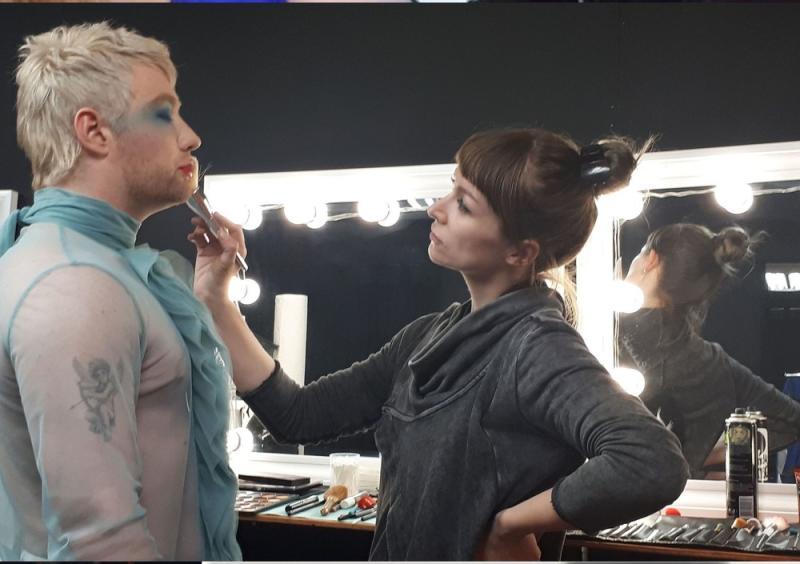 Makeup/Hair for music video Dreamin-Drew Mac