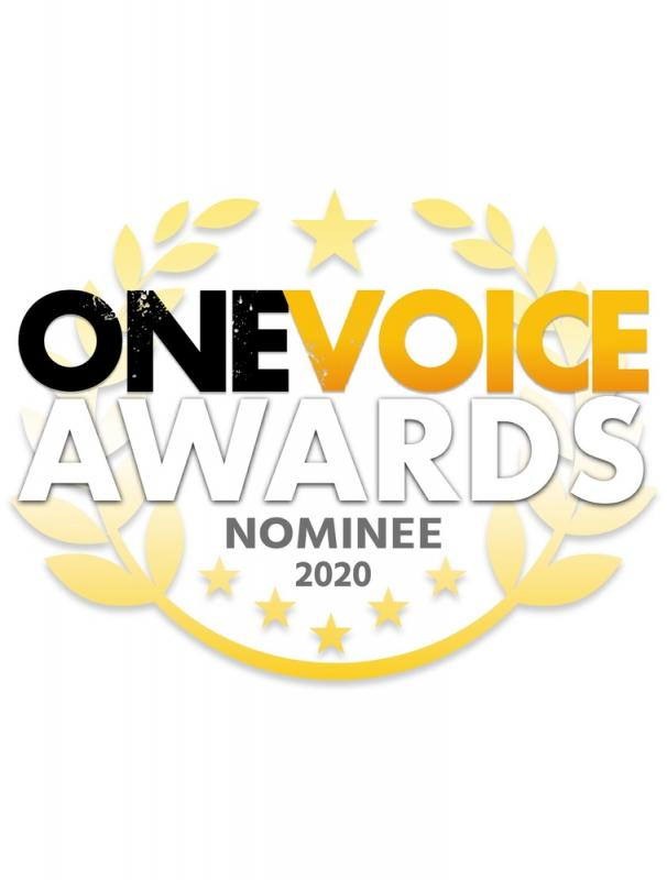 One Voice Awards Nomination 2020 for Best Male Performance in a Video Game