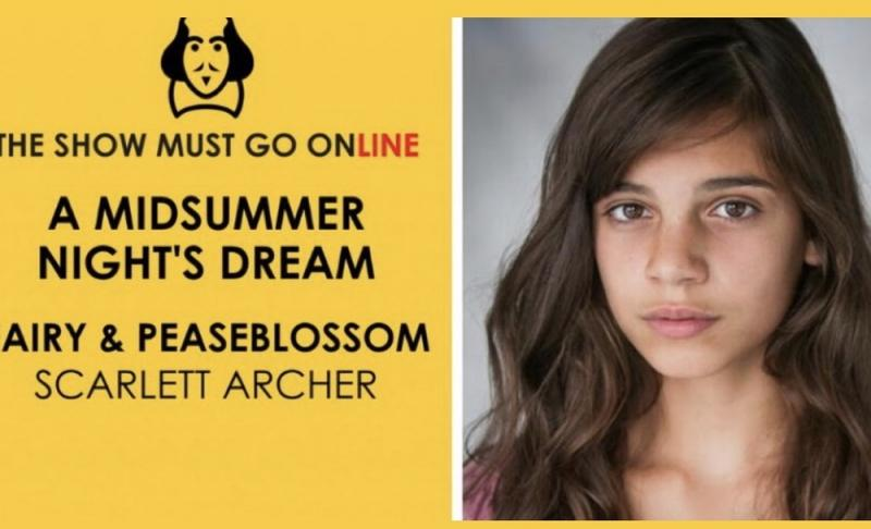 Fairy Peasblossom- A Midsummer Night's Dream