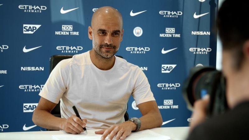 Man City signing