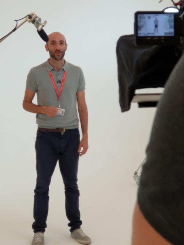 Corporate Film Presenter