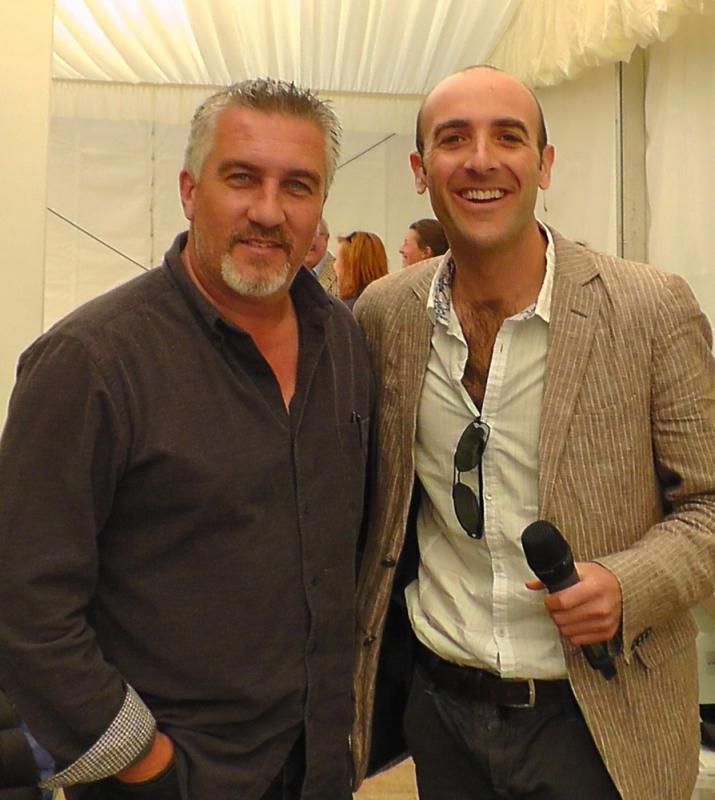Food Show Host Paul Hollywood