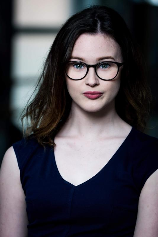 Amy Gray With Glasses