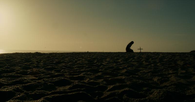 Kneeling Cross
