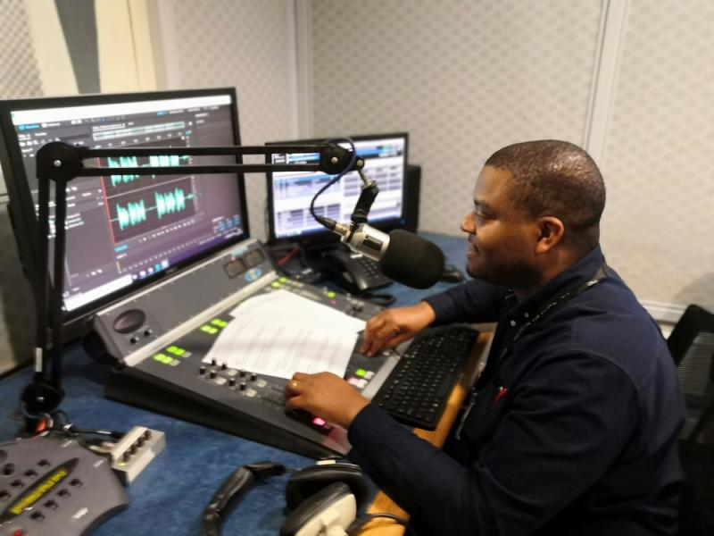 IVR recording Demon FM Radio Studios -Leicester