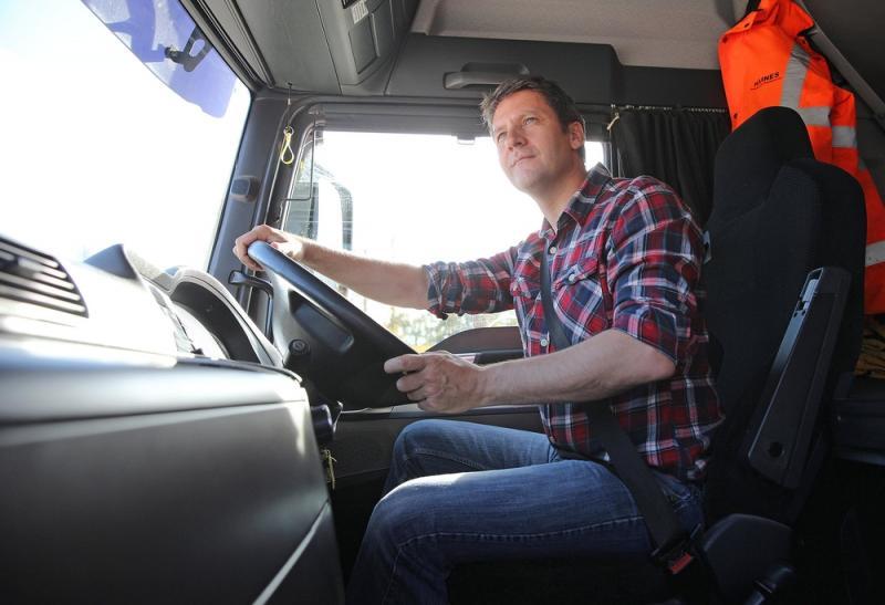Tony Smith truck driver