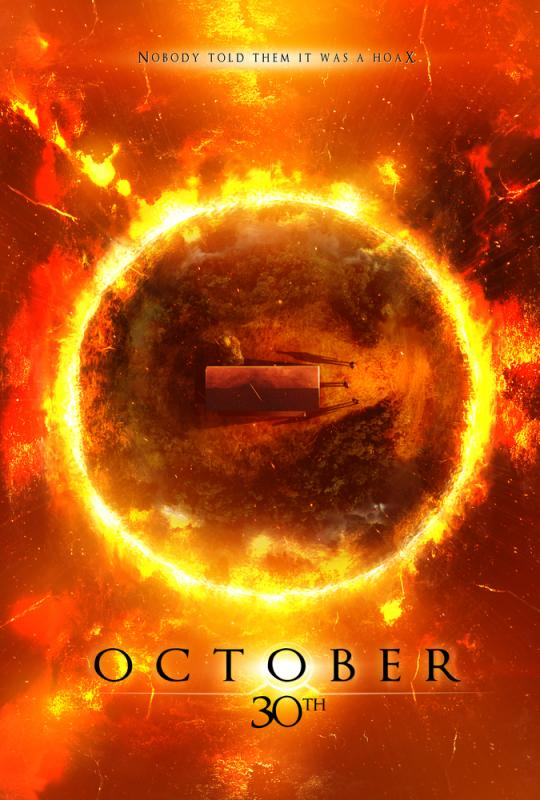 Poster for upcoming film OCTOBER 30TH