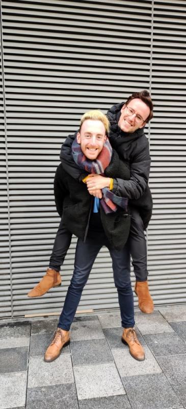 Joe and Carlos