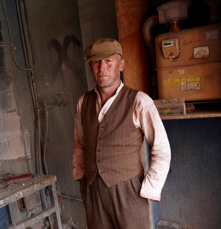 Victorian Steel Worker