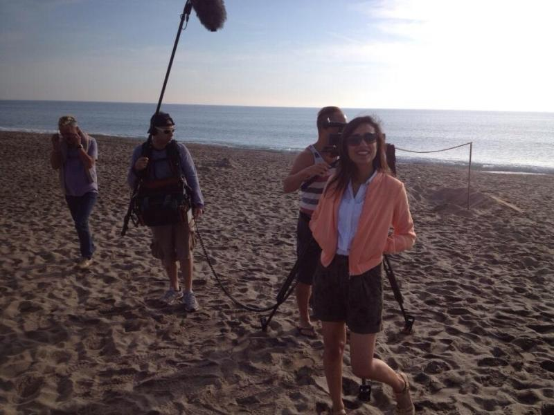 Location Sound Recording for BBC's 'Escape to the Continent' with Anita Rani