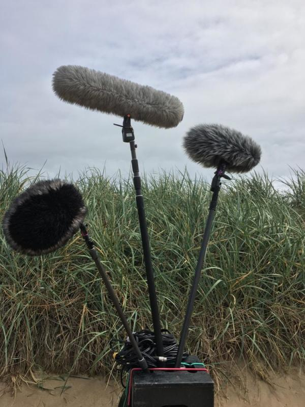 Location Sound Cart #3 - Boom Mics