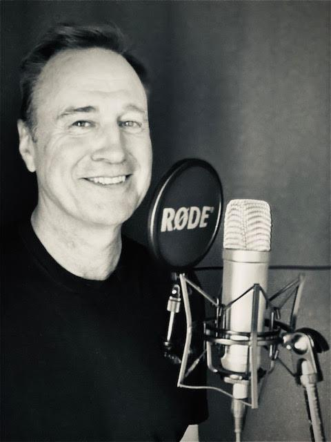 Duncan Galloway in the studio