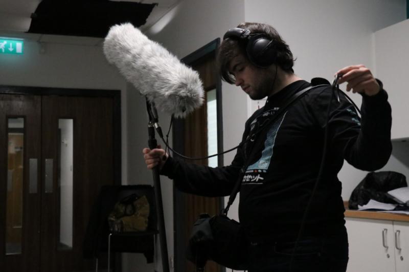 Owen Evans, Sound Guy