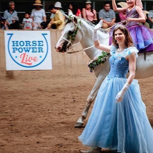 Fairy Godmother Equus - Horsecapades @ Canadian National Exhibition
