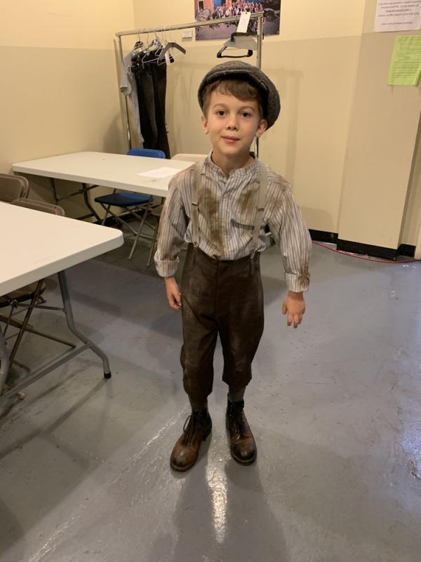 "Urchin Boy for ""Murdock Mysteries"""