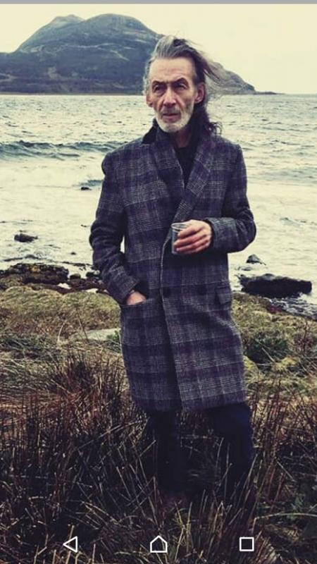 David Sillars by the sea.