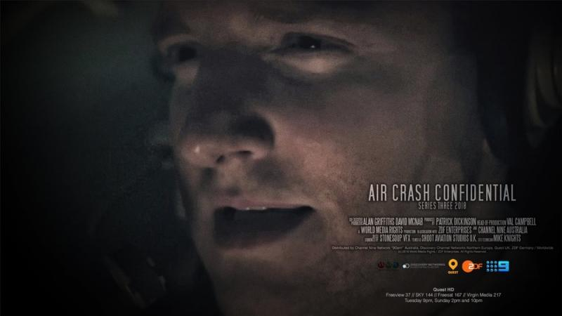 Air Crash Confidential - ZDFE/9/Discovery - Derek Gibbons as Pilot Jerry Smith