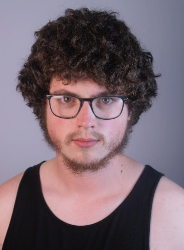 Recent Headshot with Glasses