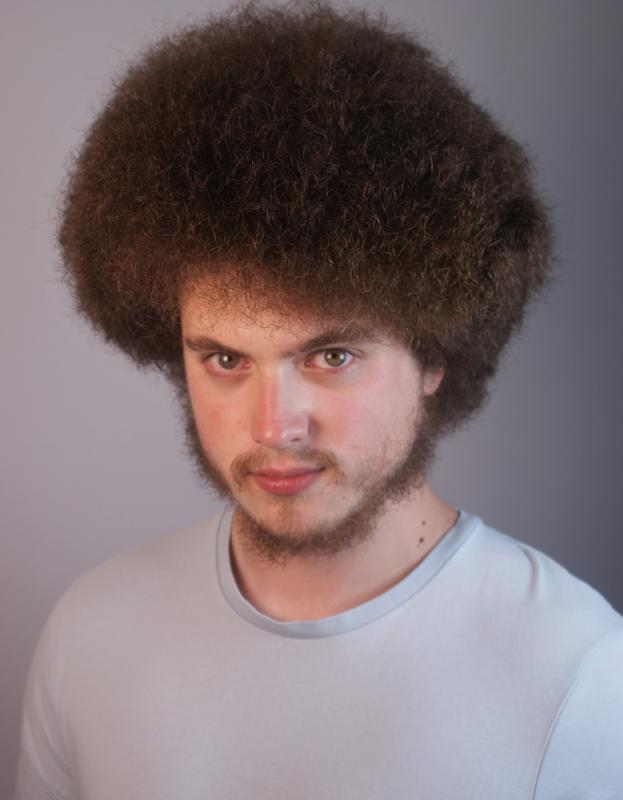 Recent Headshot with Afro