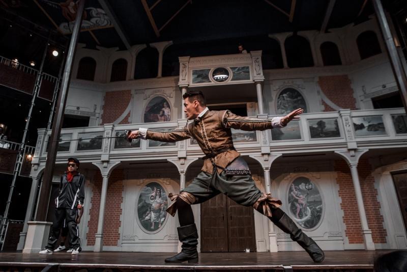 As Benvolio in ROMEO & JULIET, Pop-up Globe, Auckland, NZ