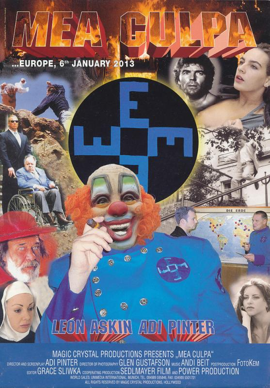 "Movie Poster for Austrian feature ""Mea Culpa"""