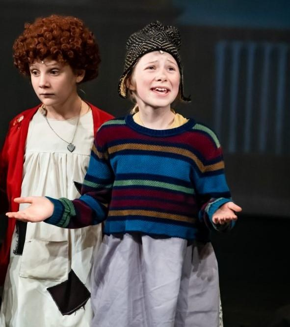 Elodie Hitchcock as Tessie in Annie Jr