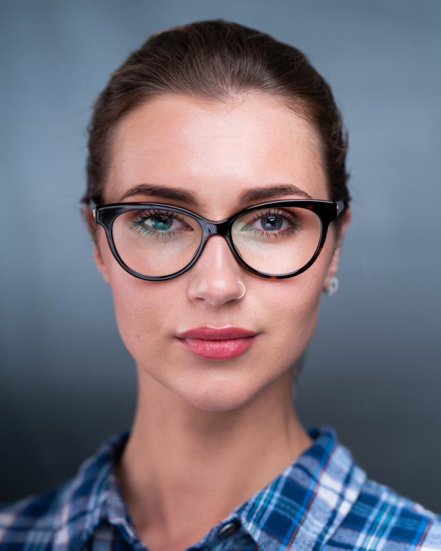 With Glasses