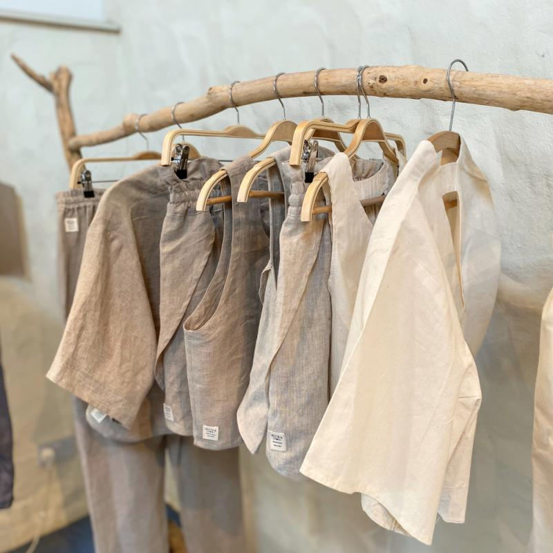 Natural Linen collection for HUNA - Designed