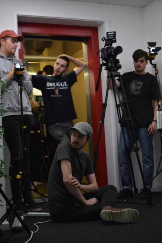 Director on Set of AJAJ